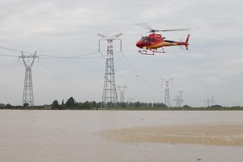 ——国网通航公司开展湖南洪灾地区线路普查纪实